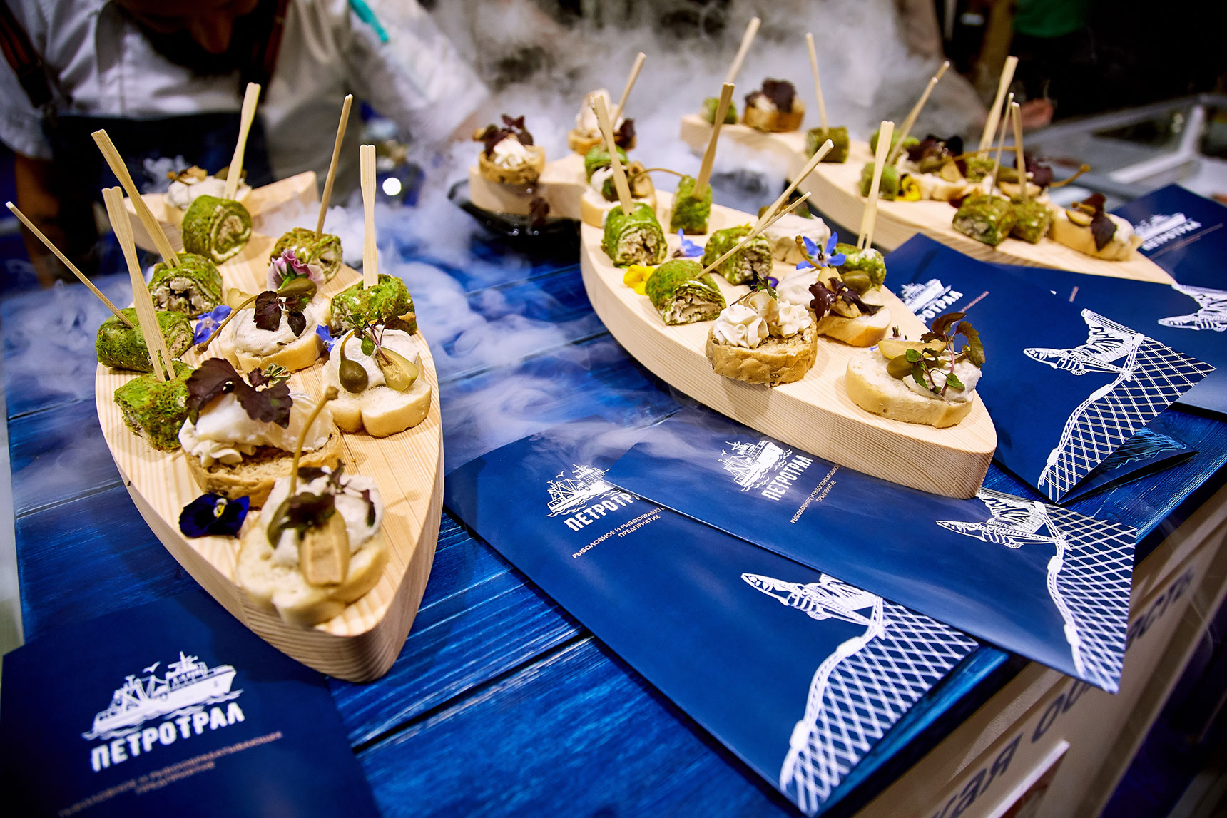 Tasty exhibition: guests of SEAFOOD EXPO RUSSIA 2019 were offered more than 50 different seafood and fish dishes